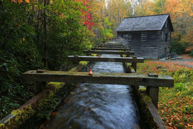 Μύλος Mingus το φθινόπωρο στοκ εικόνες