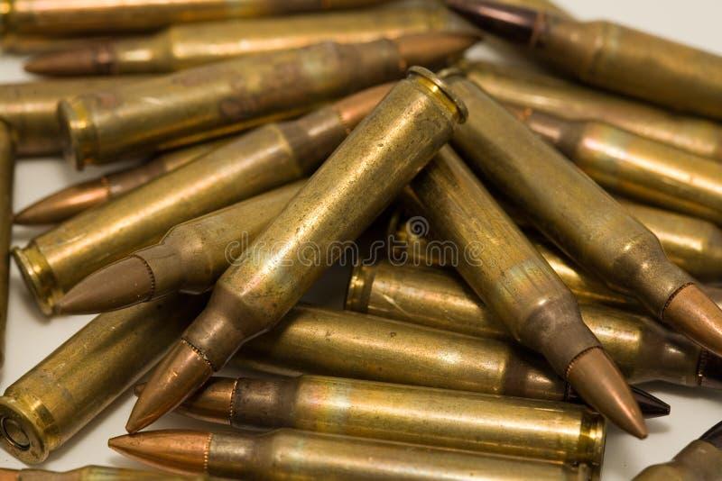 Μ-16 κασέτες 5.56mm στοκ εικόνες με δικαίωμα ελεύθερης χρήσης