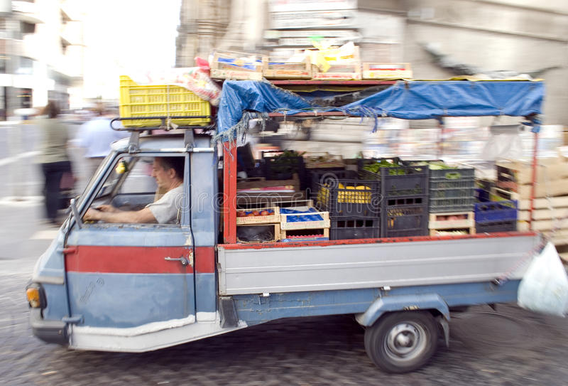 Νάπολη, αστική σκηνή στοκ φωτογραφίες με δικαίωμα ελεύθερης χρήσης