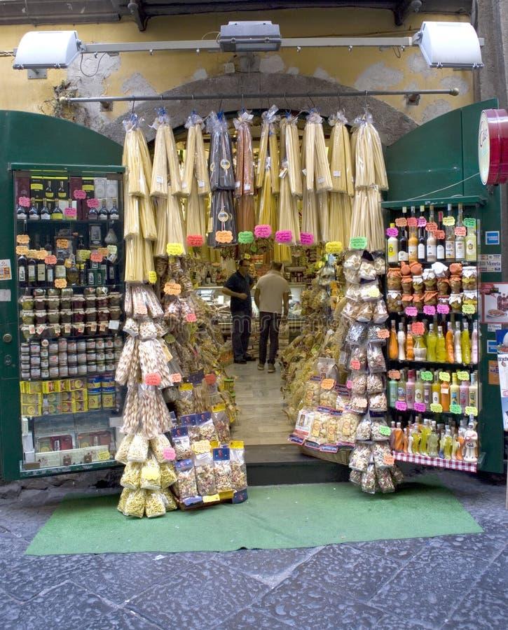 Νάπολη, ισπανικό τέταρτο στοκ εικόνα με δικαίωμα ελεύθερης χρήσης