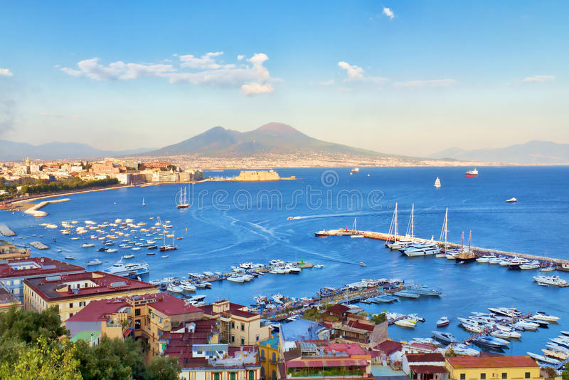 Νάπολη, Ιταλία στοκ φωτογραφία