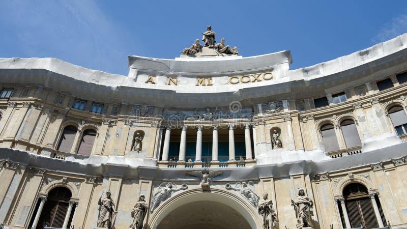 Νάπολη Ιταλία στοκ φωτογραφία με δικαίωμα ελεύθερης χρήσης