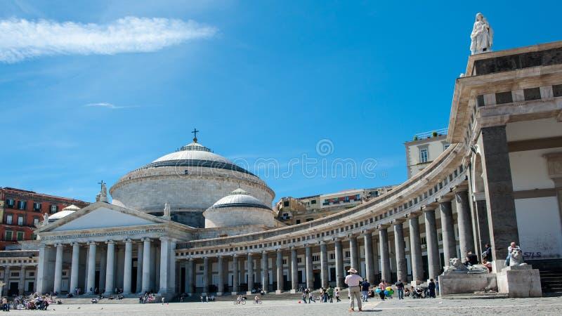 Νάπολη Ιταλία στοκ φωτογραφίες
