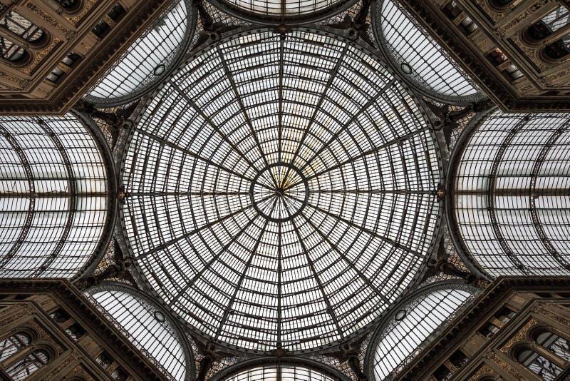 Νάπολη Galleria Umberto I στοκ εικόνα με δικαίωμα ελεύθερης χρήσης