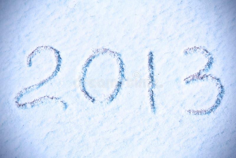 Νέα ανασκόπηση έτους 2013 στοκ φωτογραφίες