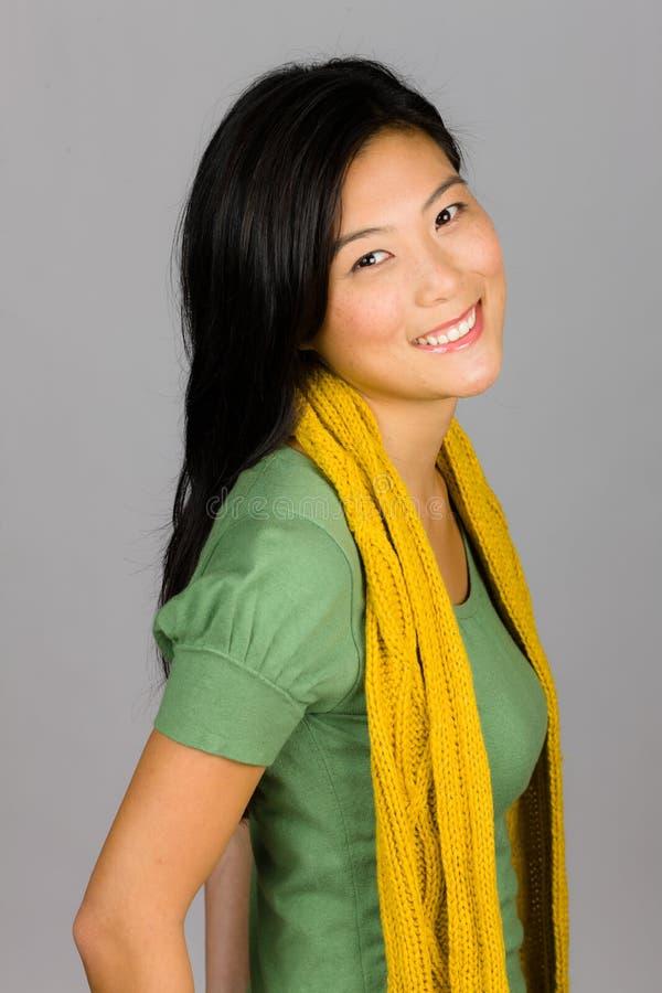 Νέα ασιατική γυναίκα στοκ εικόνα