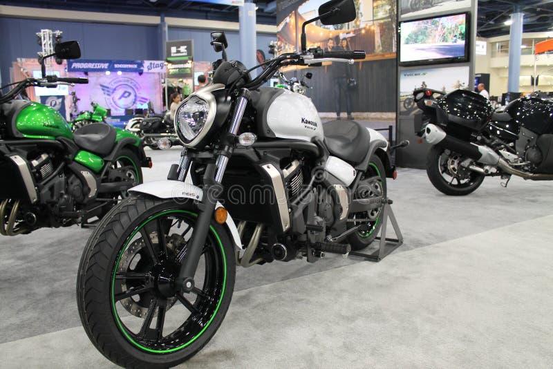 Νέα ασιατική μοτοσικλέτα στοκ φωτογραφία
