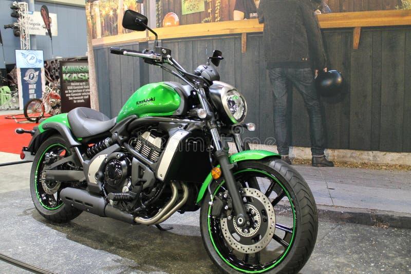 Νέα ασιατική μοτοσικλέτα στοκ εικόνα με δικαίωμα ελεύθερης χρήσης