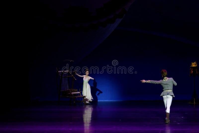 Νέα γαμήλια νύχτα το 1-τριών actï ¼ š ` όνειρο να τεμαχίσει το μετάξι ` - επική πριγκήπισσα ` μεταξιού δράματος ` χορού στοκ φωτογραφία με δικαίωμα ελεύθερης χρήσης