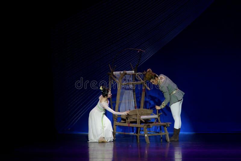 Νέα γαμήλια νύχτα το 1-τριών actï ¼ š ` όνειρο να τεμαχίσει το μετάξι ` - επική πριγκήπισσα ` μεταξιού δράματος ` χορού στοκ εικόνα