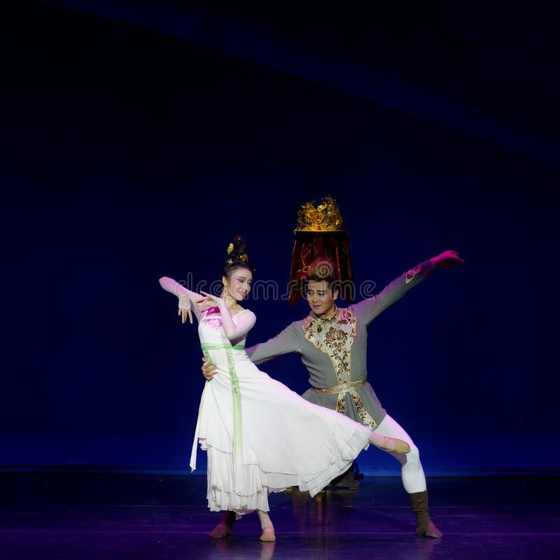 Νέα γαμήλια νύχτα το 2-τριών actï ¼ š ` όνειρο να τεμαχίσει το μετάξι ` - επική πριγκήπισσα ` μεταξιού δράματος ` χορού στοκ εικόνες με δικαίωμα ελεύθερης χρήσης
