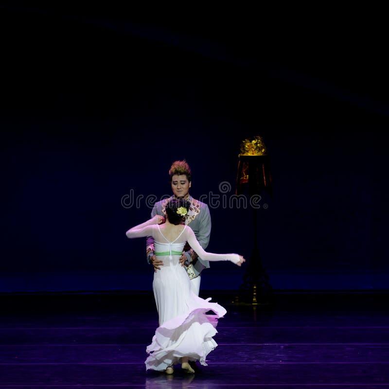 Νέα γαμήλια νύχτα το 4-τριών actï ¼ š ` όνειρο να τεμαχίσει το μετάξι ` - επική πριγκήπισσα ` μεταξιού δράματος ` χορού στοκ εικόνες