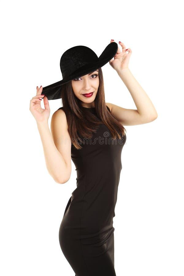 Νέα γυναίκα brunette στοκ φωτογραφία με δικαίωμα ελεύθερης χρήσης