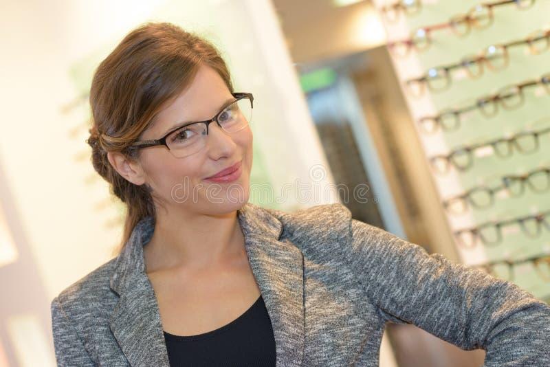 Νέα επιλογή eyewear στοκ εικόνες με δικαίωμα ελεύθερης χρήσης