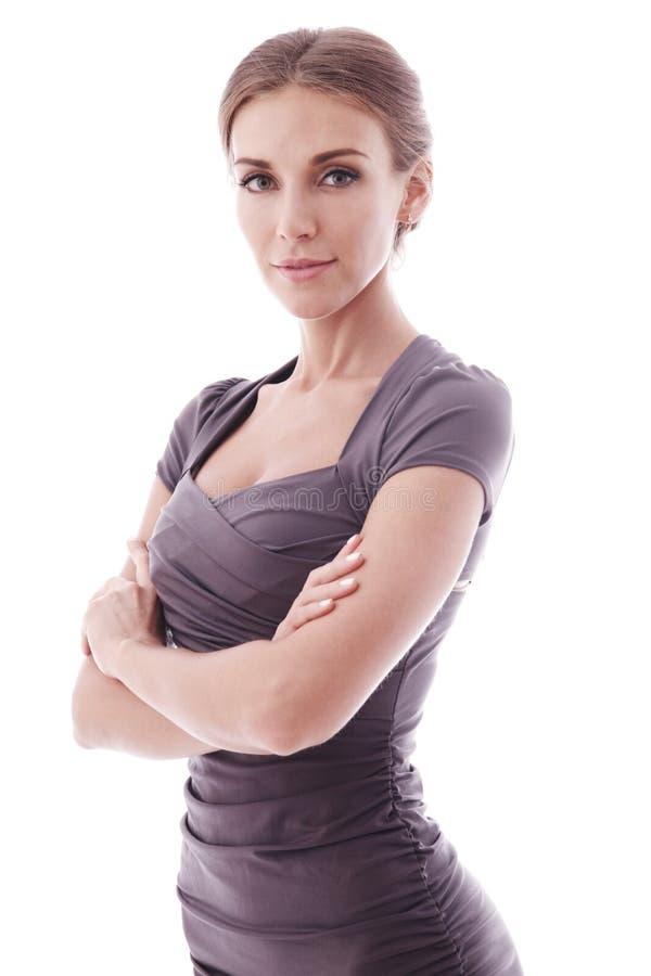 Νέα επιχειρησιακή γυναίκα στοκ εικόνα με δικαίωμα ελεύθερης χρήσης