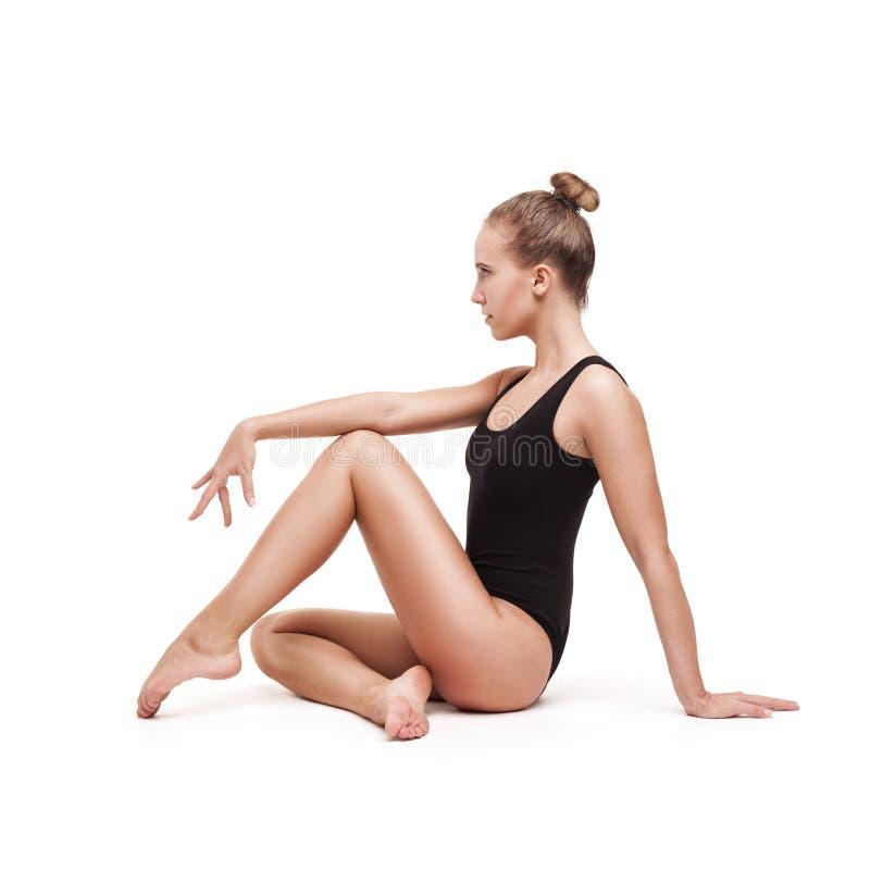 Νέα λεπτή γυμναστική γυναίκα στοκ εικόνες με δικαίωμα ελεύθερης χρήσης