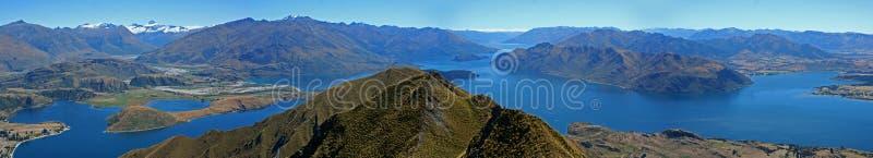 Νέα Ζηλανδία πανοραμική στοκ εικόνα με δικαίωμα ελεύθερης χρήσης