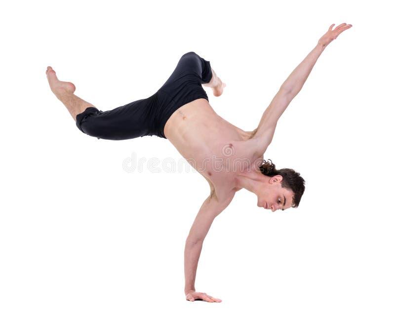 Νέα και μοντέρνη σύγχρονη τοποθέτηση χορευτών μπαλέτου στοκ εικόνες
