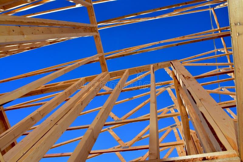 Νέα κατασκευή κατοικιών σε εξέλιξη στοκ φωτογραφίες με δικαίωμα ελεύθερης χρήσης