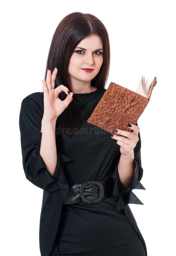 Νέα μάγισσα στοκ φωτογραφία με δικαίωμα ελεύθερης χρήσης