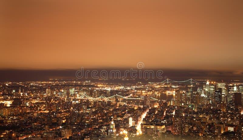 νέα νύχτα Υόρκη στοκ εικόνες με δικαίωμα ελεύθερης χρήσης