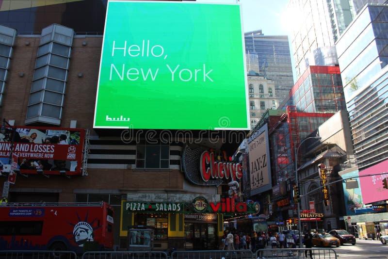 νέα οδός Υόρκη πόλεων στοκ φωτογραφία