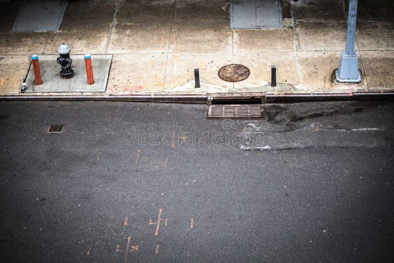 νέα οδός Υόρκη σκηνής πόλεω& στοκ φωτογραφία με δικαίωμα ελεύθερης χρήσης