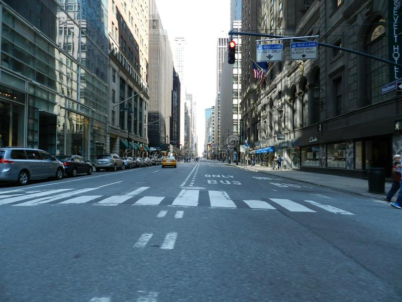 νέα οδός Υόρκη στοκ φωτογραφία με δικαίωμα ελεύθερης χρήσης