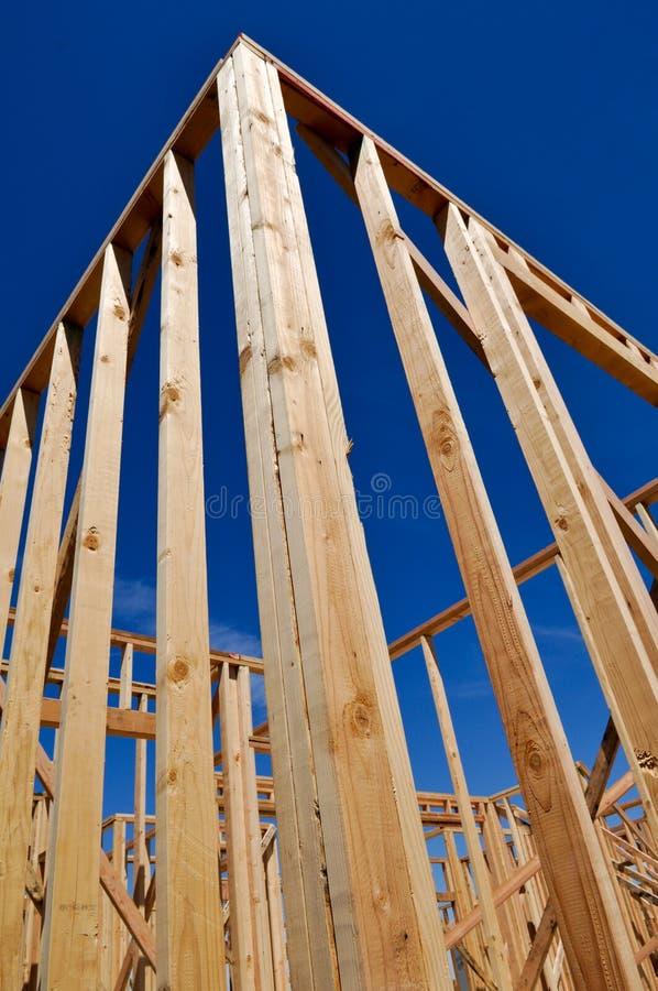 Νέα 'Οικία' κάτω από την κατασκευή στοκ εικόνες με δικαίωμα ελεύθερης χρήσης