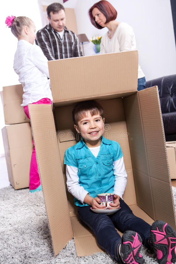 Νέο σπίτι στοκ εικόνες