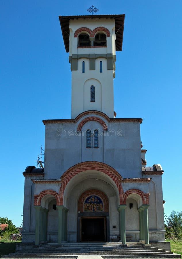 Νέα Ορθόδοξη Εκκλησία στο Νόβι Σαντ, Σερβία στοκ φωτογραφία
