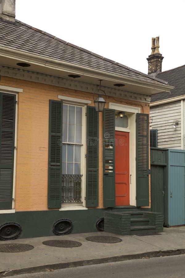 Νέα Ορλεάνη, γαλλικές συνοικίες στοκ φωτογραφία με δικαίωμα ελεύθερης χρήσης