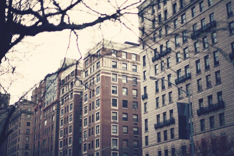 νέα οδός Υόρκη πόλεων στοκ φωτογραφία με δικαίωμα ελεύθερης χρήσης