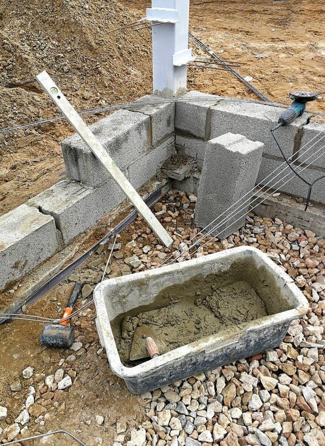 νέα περιοχή σπιτιών οικοδόμησης κτηρίου στοκ φωτογραφία