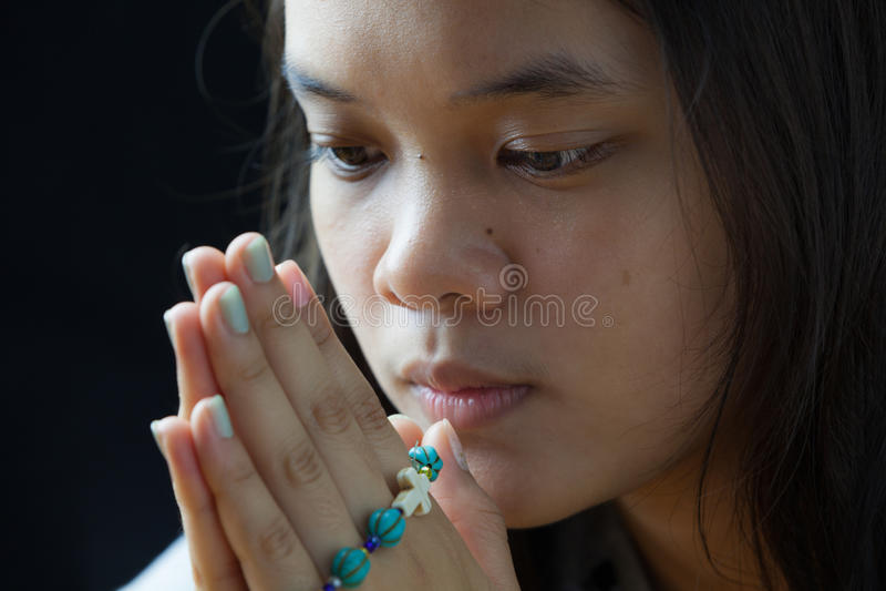 Νέα προσευχή στοκ φωτογραφίες με δικαίωμα ελεύθερης χρήσης