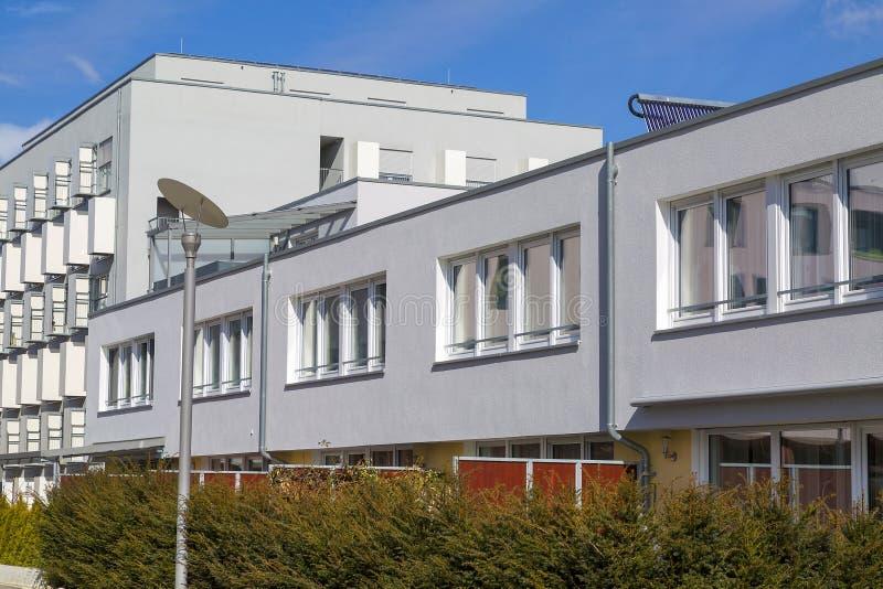 Νέα σύγχρονη αρχιτεκτονική στη Γερμανία στοκ εικόνα με δικαίωμα ελεύθερης χρήσης