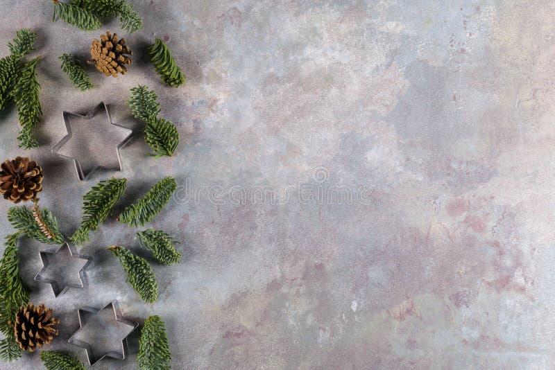 Νέα σύνθεση τροφίμων έτους Χριστουγέννων στοκ εικόνες με δικαίωμα ελεύθερης χρήσης