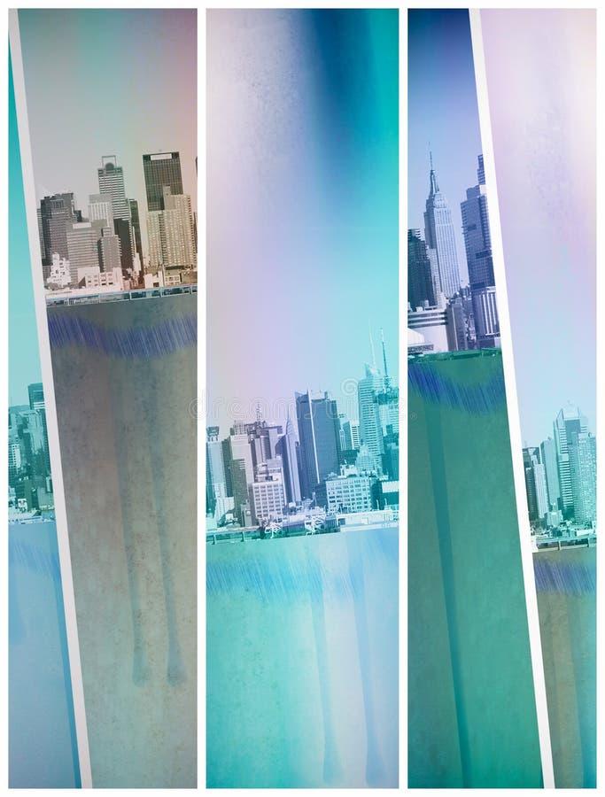 Νέα Υόρκη αστική ελεύθερη απεικόνιση δικαιώματος