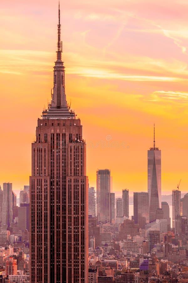 Νέα Υόρκη, Εmpire State Building στοκ εικόνα