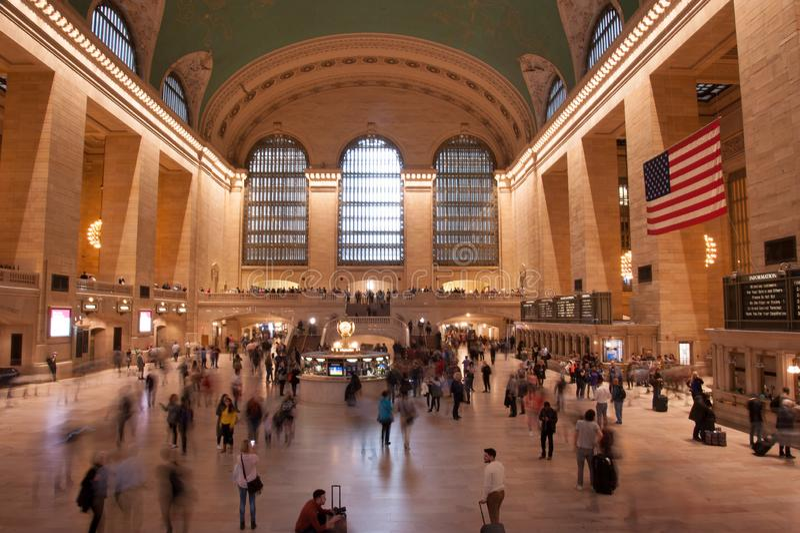 Νέα Υόρκη μεγάλο κεντρικό Termina στοκ εικόνες με δικαίωμα ελεύθερης χρήσης