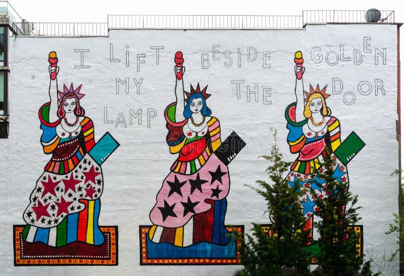 Νέα Υόρκη - τέχνη οδών στοκ φωτογραφία με δικαίωμα ελεύθερης χρήσης