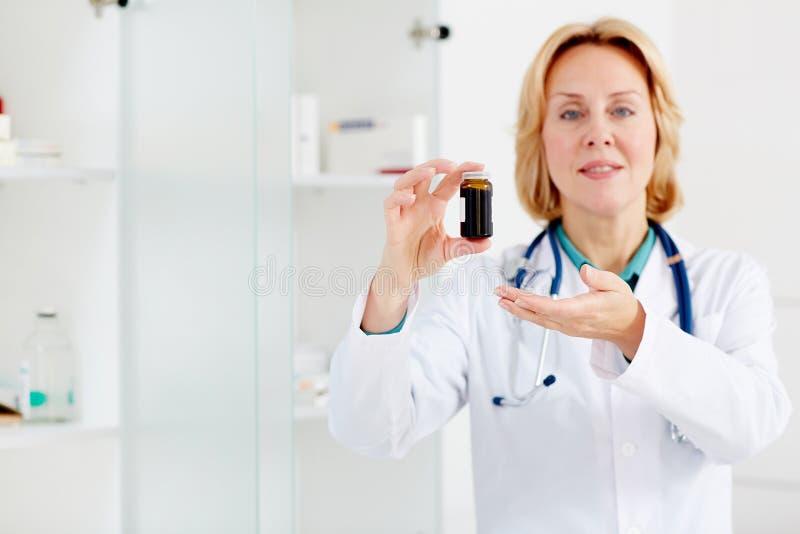 Νέα χάπια στοκ φωτογραφία