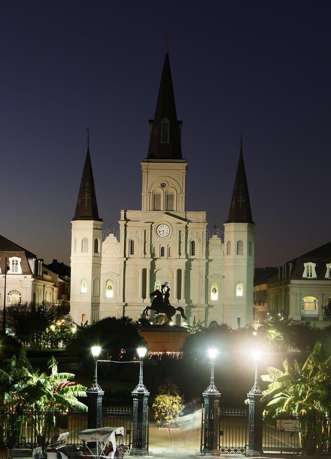 νέα όψη της Ορλεάνης ST νύχτας &t στοκ εικόνες με δικαίωμα ελεύθερης χρήσης