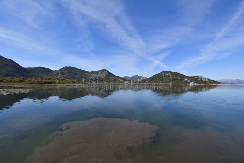Νέγρος Skadar Monte λιμνών του Μαυροβουνίου στοκ φωτογραφία με δικαίωμα ελεύθερης χρήσης