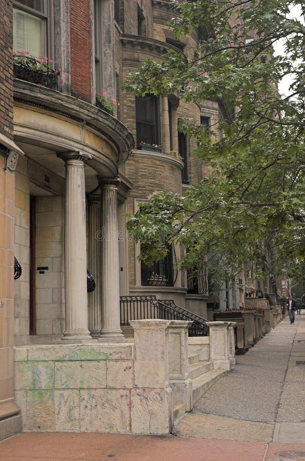 νέες κατοικίες Υόρκη πόλεων στοκ φωτογραφία