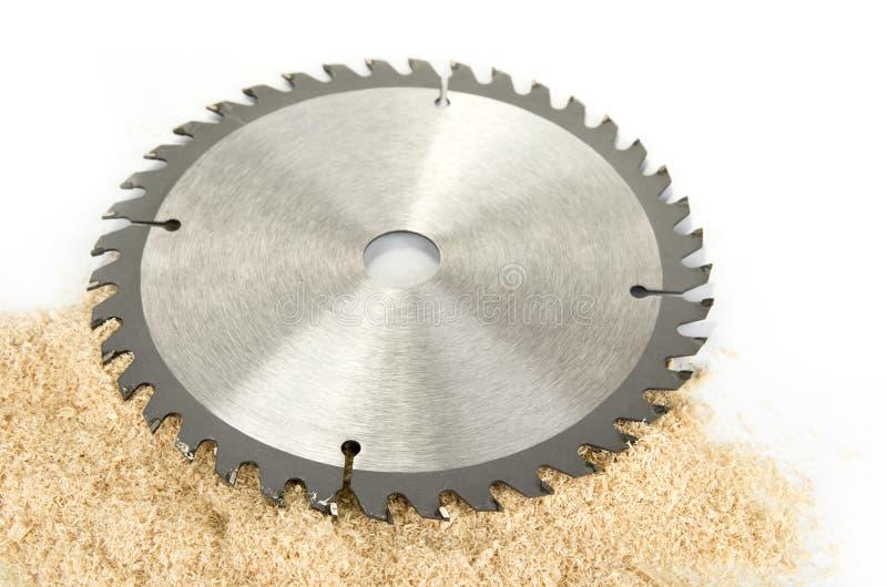 Νέες κυκλικές λεπίδες πριονιών για το ξύλο ή το πλαστικό στοκ φωτογραφία με δικαίωμα ελεύθερης χρήσης