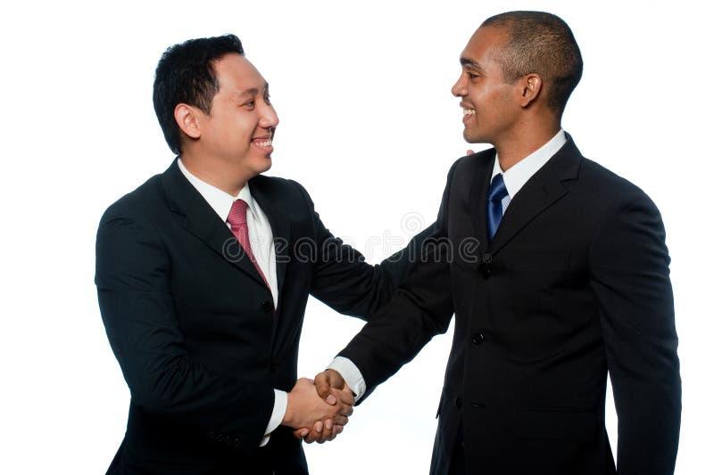 Νέοι επιχειρηματίες στοκ εικόνα με δικαίωμα ελεύθερης χρήσης
