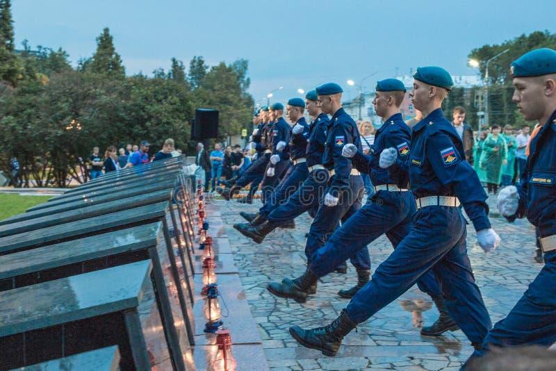 Νέοι μαθητές στρατιωτικής σχολής στοκ φωτογραφία με δικαίωμα ελεύθερης χρήσης