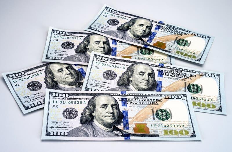 Νέοι 2013 λογαριασμοί εκατό δολαρίων στοκ φωτογραφία