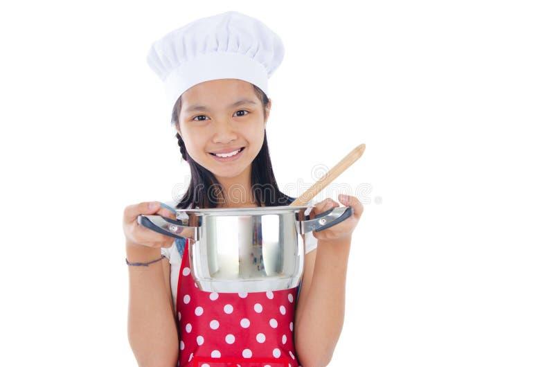 Νέος αρχιμάγειρας στοκ φωτογραφία με δικαίωμα ελεύθερης χρήσης